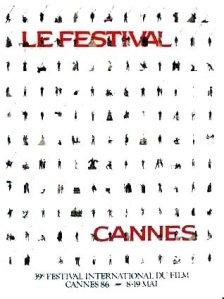 Affiche Festival de Cannes 1986