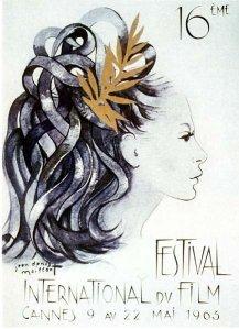 Affiche Festival de Cannes 1963