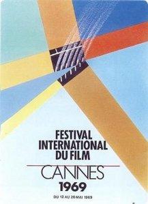Affiche Festival de Cannes 1969