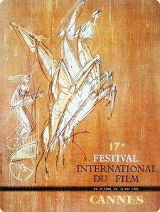 Affiche Festival de Cannes 1964
