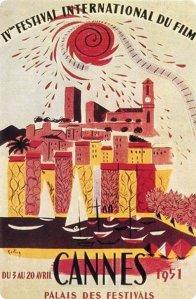 Affiche Festival de Cannes 1951