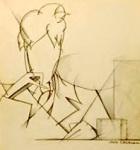 Cocteau - Autoportrait sans visage