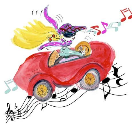 Chansons qui parlent de voitures la griotte - Dessin humoristique voiture ...