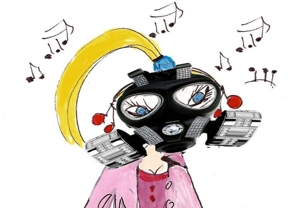Griotte apocalypse masque
