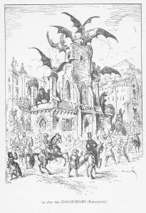 Char des Ratapignatas, illustrations de G. Mossa