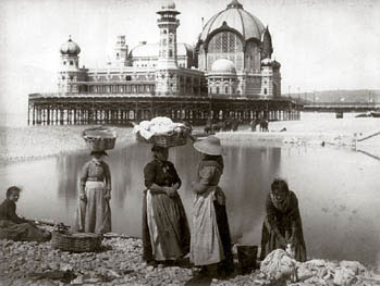 Les blanchisseuses, 1891 collection Bibliothèque de Cessole