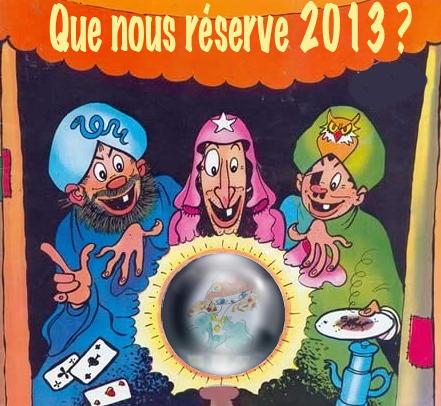 Que nous réserve 2013 ?