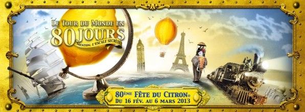 Affiche fête du citron 2013