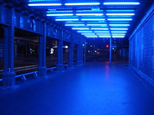 "Gunda Förster - ""Blue, Hommage au Bleu d'Yves Klein"""