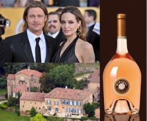 Brad Pitt et Angelina Jolie château de Miraval
