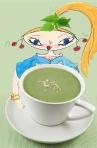 Griotte à la soupe d'ortie