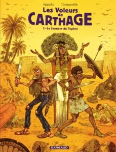 Les voleurs de Carthage couv