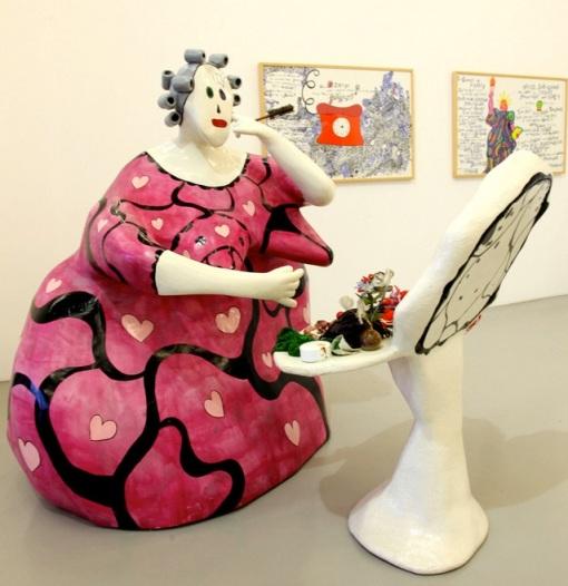 La Toilette de Niki de Saint-Phalle (1978) Mamac de Nice