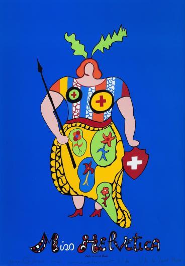 Miss Helvetica de Niki de Saint Phalle (1980) au Mamac de Nice