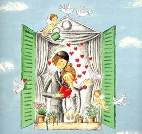 Saint Valentin Les Amoureux De Peynet Entre Sel Et Mer