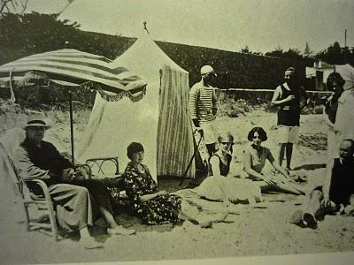 Plage de la Garoupe en 1926