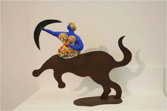 Saggitarius vase de Niki de Saint Phalle (1992) au Mamac de Nice.jpg
