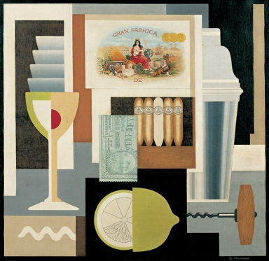 Tableau de Gerald Murphy - Cocktail 1927