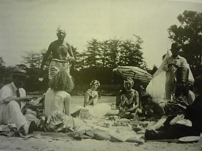 The Mad Beach Party, plage de La Garoupe à Antibes1923