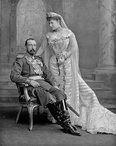 Le Grand Duc Michael Mikailovich de Russie et sa femme