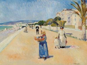 Edvard Munch, Promenade des Anglais 1891