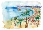 La baie des Anges et des peintres