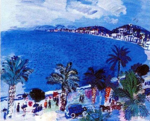 La Baie des Anges Raoul Dufy 1929