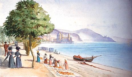 La Promenade des Anglais et la jetée promenade d'Antoine Trachel