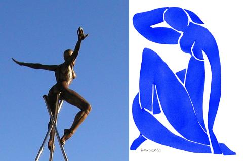 Lavarenne au Cros-de-Cagnes et Matisse à Nice, cet été.