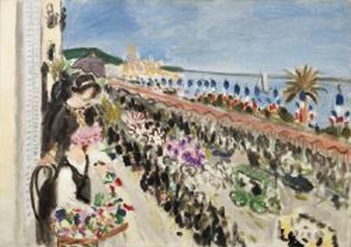 Matisse fete des fleurs a Nice 1923