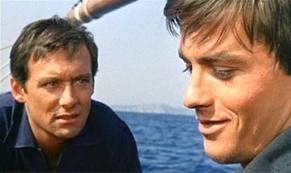 Maurice Robinet et Alain Delon dans Plein Soleil