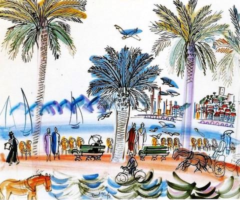 Promenade des Anglais Raoul Dufy