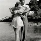 Simone Silva et Robert Mitchum à Cannes en 1954 4
