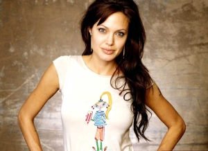 Angelina Jolie t-shirt La Griotte