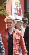 Bono et James Joyce Nice juillet 2013