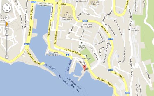 Club Nautique de Nice  50 Boulevard Franck Pilatte, 06300 Nice  04 93 89 39 78