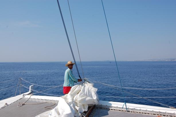 Jacques, capitaine/skippeur/propriétaire du Ka