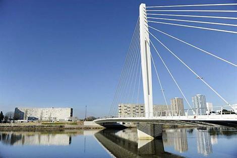 Pont Éric Tabarly à Nantes