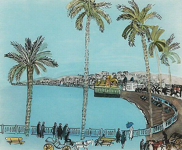 La baie des anges de Raoul Dufy