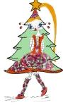 Griotte sapin de Noël