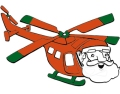 helicopter-coloriage