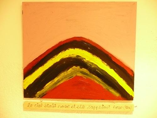 Ben peint le Mont Chauve