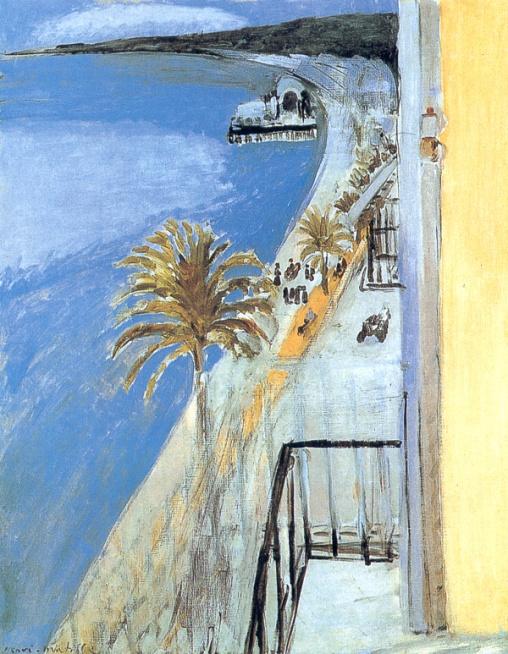 Matisse, la baie de Nice
