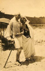Sara et Gérald Murphy, plage de la Garoupe