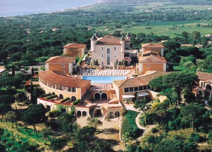 Le château de la Messardière à Saint-Tropez