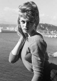 1955 sur la plage Coco Beach de Nice