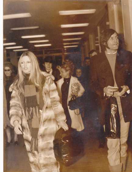 1970 à l'aéroport de Nice