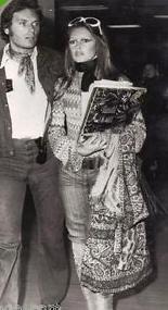 1972 avec Christian Kalt à l'aéroport de Nice