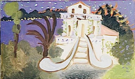 La villa Chêne-Roc à Juan-les-Pins (1931)