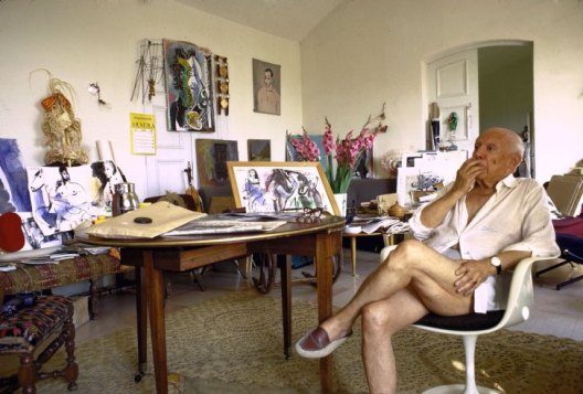 Picasso à Notre Dame de Vie 1967